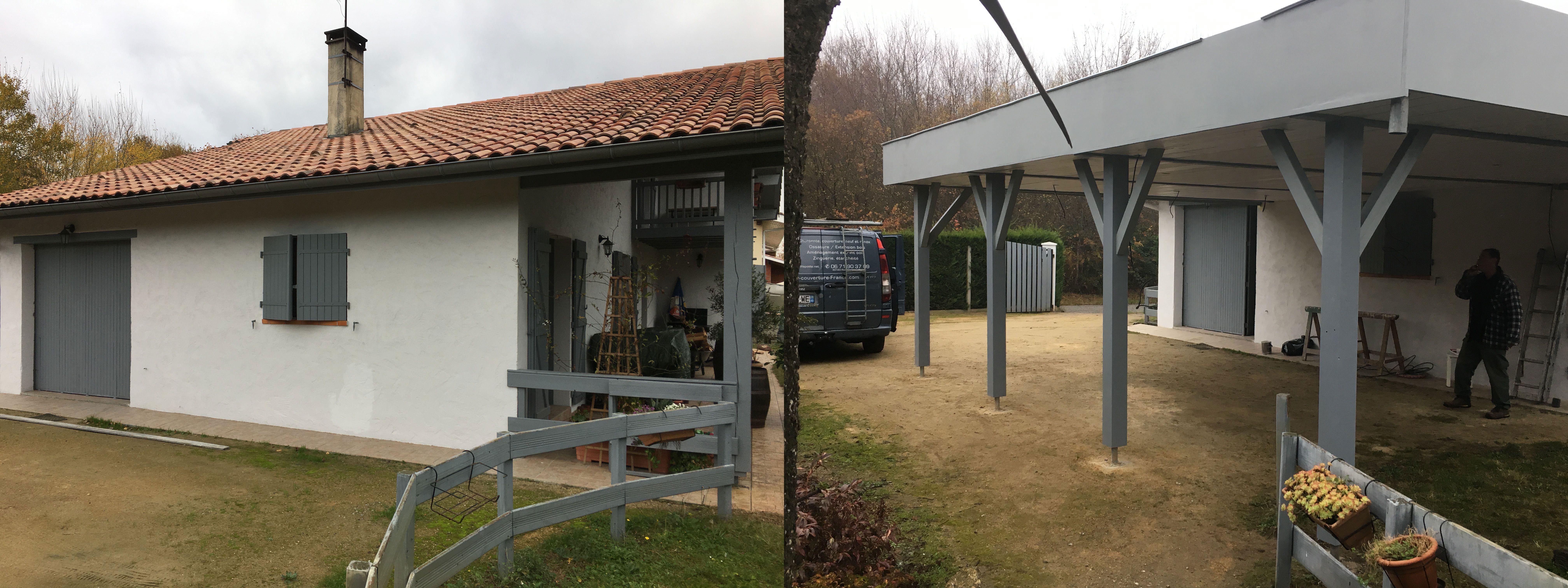 Couvrir une terrasse en bois free recouvrir terrasse sols - Avec quoi couvrir une pergola ...